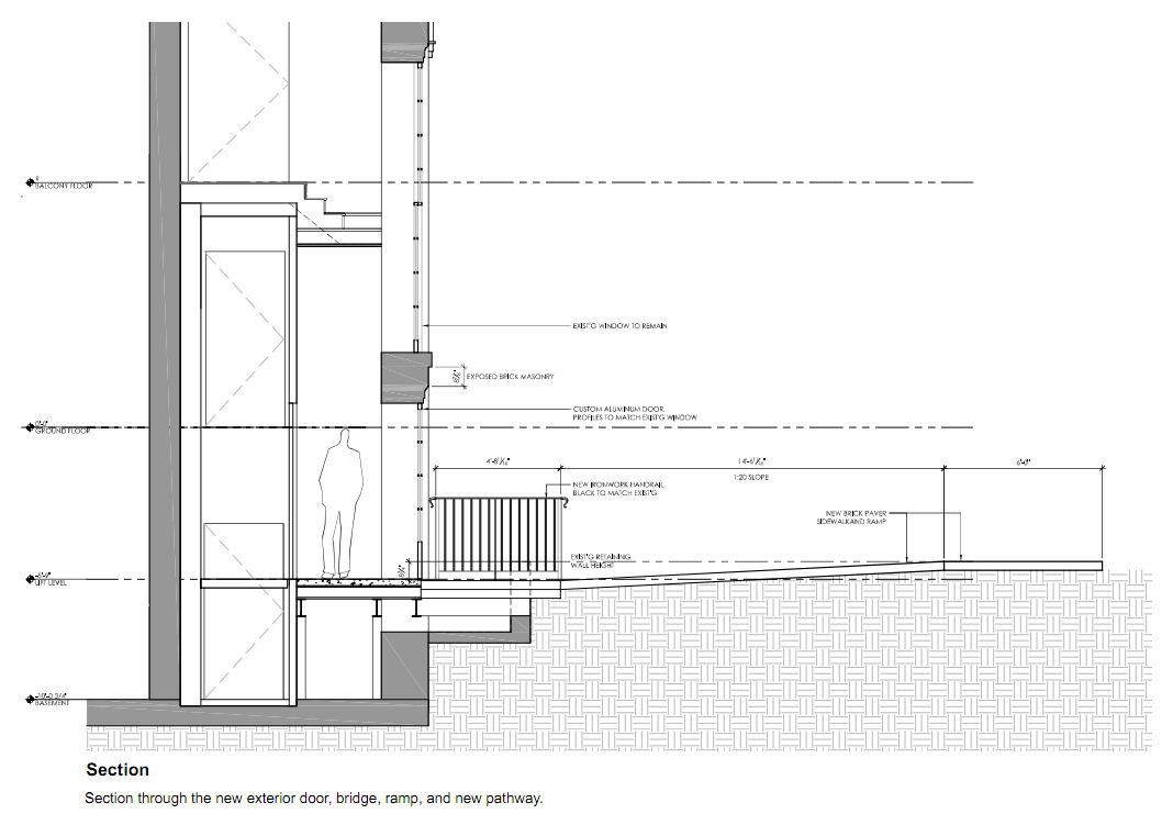 Elevator section drawing related keywords elevator for Elevator plan drawing